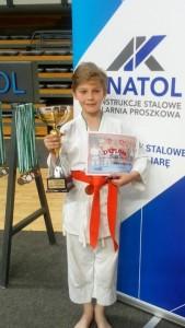 Karatecy z SP Słone zdobyli kolejne laury