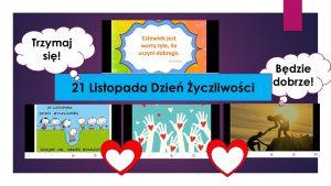 21 listopada Dzień Życzliwości i Pozdrowień