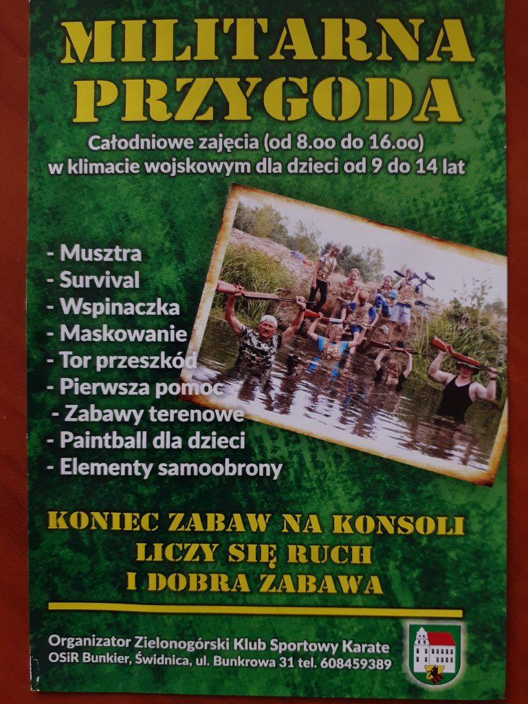 Lato w OSiR Bunkier w Świdnicy